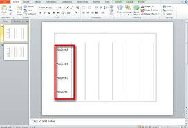How To Create Timeline Chart In Powerpoint How To Make A Gantt Chart In Powerpoint 2010 Slidehunter Com