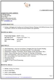 sample template of an excellent b tech ece resume sample with profile resume sample