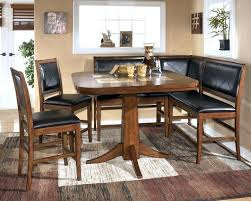 Medium Image for Corner Kitchen Table Set With Storage Dining Room Table  Corner Bench Set Ashley