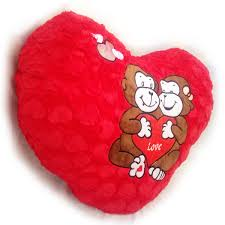 sweet heart shape cushion red big for valentine gift soft toy 62 cm