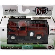 M2 Machines Auto-Trucks 1972 Ford F-100 Custom 4x4 Pickup Truck ...