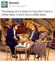 seinfeld coffee table book coffee table book about coffee tables seinfeld coffee table book episode
