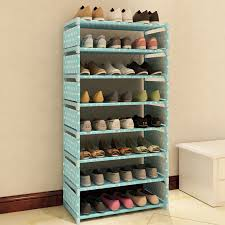 New Fashion Pattern Shoe Cabinet Shoes Racks Storage Large Capacity Home  Furniture DIY Simple 7 Layers #236471-in Storage Holders & Racks from Home  & Garden ...