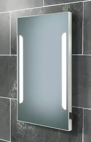 bathroom mirrors with lights. HIB Zenith Back-Lit Steam Free Mirror With Shaver Socket 450 X 800mm Bathroom Mirrors Lights