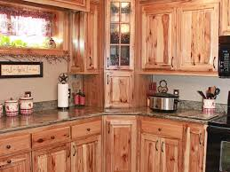amazing rustic hickory kitchen cabinets pertaining to knotty natural color for interior