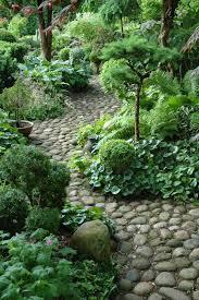 river rocks entry garden. Shade Gardens, Rock Interesting Integration Into Gardens /containers River Rocks Entry Garden