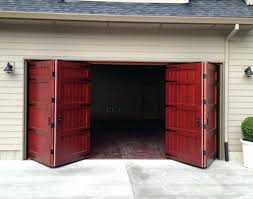 8 ft garage door bi fold carriage doors ft x 8 ft insulated wood chamberlain 8