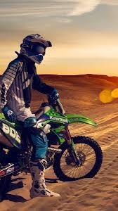 Motocross Desert Wallpaper For Iphone X 8 7 6 Free