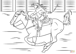 Coloring Download. Horse And Rider Coloring Pages: Horse And Rider ...