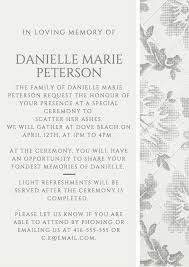 memorial service invitation memorial service invitations memorial service invitation wording