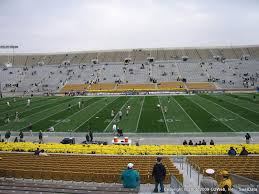 Notre Dame Stadium Seat Views Section By Section