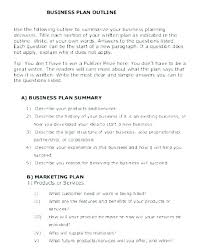 Research Proposal Outline Template How To Write A With
