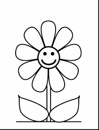 fabulous color flower coloring pages with free flower coloring ...
