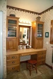 Handicap Bathroom Vanities Bathroom Lovely White Double Bathroom Vanity With Makeup Area