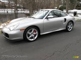 2002 Porsche 911 Turbo Coupe in Arctic Silver Metallic - 686374 ...