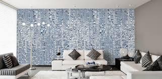 Designtapeten In Blau Tapeten Schlafzimmer Grau Braun