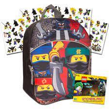 Lego Ninjago Toddler Preschool Backpack 11 Inch Mini Backpack ... | Lego  ninjago, Lego, Backpacker
