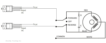 how to control ac synchronous motor microchip attached image s