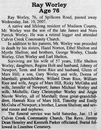 Ray Worley 2007-01-24 bro Earl Shelton - Newspapers.com