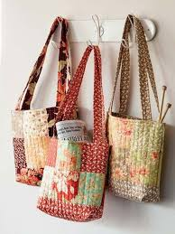 1534 best Bags - Totes images on Pinterest | Crafts, Bag and Bags & 3 Times the Charm Tote Bag Pattern - Quilting Digest Adamdwight.com