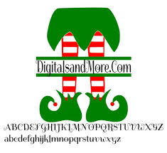 (you are downloading only the free cut file, other images are just for demonstration purposes). Svg Elf Legs Monogram Svg Monogram Elf Legs Svg Elf Svg Etsy