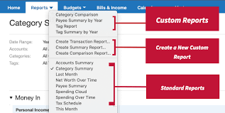 Quicken Chart Of Accounts Templates Learn About Reports In Quicken For Mac