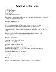 Qa Tester Entry Level Entry Level Resume Games Tester Cover Letter