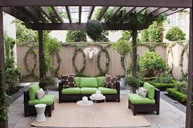 lime green patio patio transitional with antlers contemporary fencing and gates