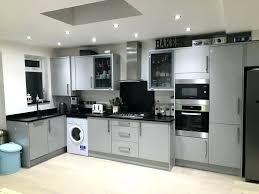 grey gloss kitchen cupboard doors for dark used units and black starlight gorgeous s details