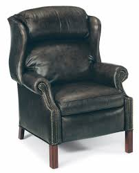 bradington young chipendale wing back recliner harris