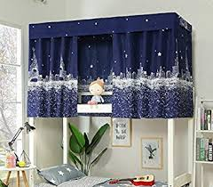 Amazon.com: Bed Curtain Bed Canopy Single Sleeper Bunk Bed Bunk Tent ...