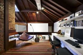 it office design ideas. Cool Attic Home Office Design Ideas It
