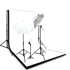 photography continuous lighting kit backdrop support system black white muslin backdrops photo and kits studio photography backdrop stand
