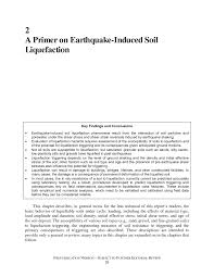 a primer on earthquake induced soil liquefaction state of the  page 29