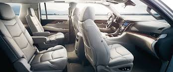 cadillac 2015 interior. cadillac escalade interior secondrow 2015