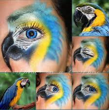 makeup monday crazy bird eye while some people do this i m