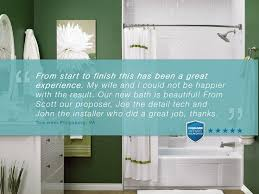 bathfitters ri. bath fitter employees do great work. we have the happy customers to back it up bathfitters ri o