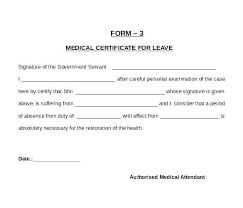 New Medical Certificate Good Health Sample Certificate Medical