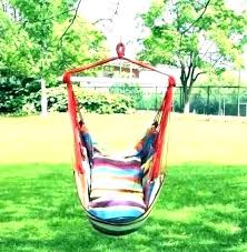 swinging chair stand hammock swing chair stand with portable swing chair stand diy