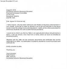 Sample Appeal Letter For College Readmission