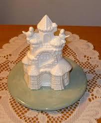 Ceramic Sand Castle Wedding Cake Topper W By Ceramicsbylisa On Zibbet