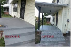 44 resurface patio concrete pavers patios