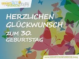 Lustige Sprüche Und Schöne Glückwünsche Zum 30 Geburtstag