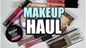 makeup haul november 2016
