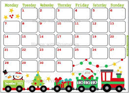 Small Picture Printable Christmas December 2015 Calendar PdfChristmasPrintable