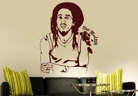 Bob Marley Dream Catcher Bob Marley Wall Decal Groovy Home Decoration 87
