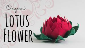 How To Make A Lotus Flower Out Of Paper How To Make An Origami Lotus Flower Origami Wonderhowto