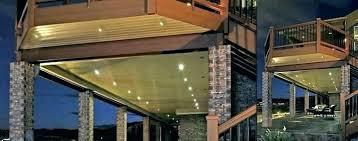 under soffit lighting. Led Lighting Outdoor Lights Ideas Under Deck Exterior Soffit Recessed