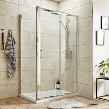 premier pacific sliding door shower enclosure 1400x900 6mm