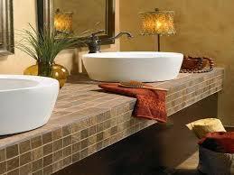 tile bathroom countertop ideas. Various Tile Bathroom Countertop Ideas For E